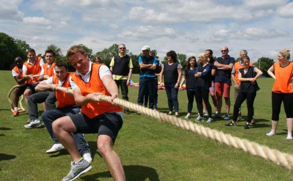 Team building activities and corporate sports day in London