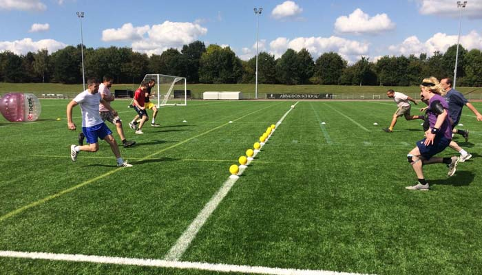 Dodgeball parties and tag archery in London