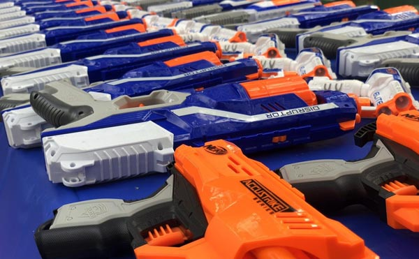 Plan the best nerf party in London